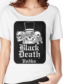 BLACK DEATH VODKA Women's Relaxed Fit T-Shirt