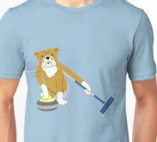 Bulldog Curling Unisex T-Shirt