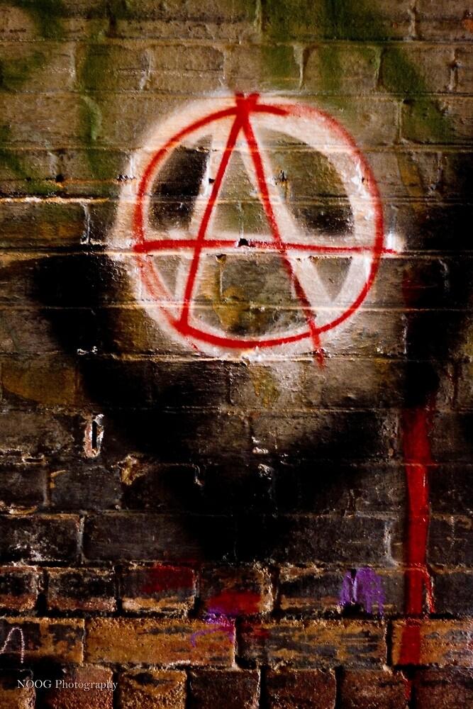 Anarchy Graffiti - Brisbane CBD by Jordan Miscamble
