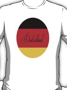 Deutschland fur frau T-Shirt