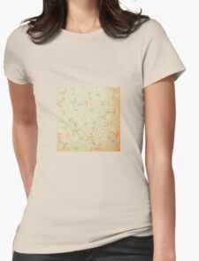 Floral,grunge,vintage,rustic,worn,wall paper,worn,shabby chic,cute,girly T-Shirt