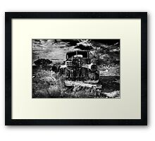 Old car 02 Framed Print