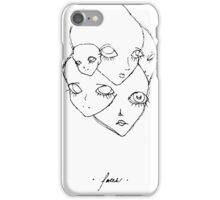 { f a c e s }  iPhone Case/Skin