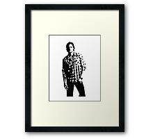 Sam Winchester Supernatural Framed Print