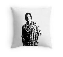 Sam Winchester Supernatural Throw Pillow