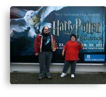 Harry Potter Exhibit Canvas Print