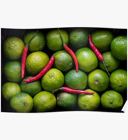 Hot Limes Poster