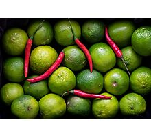 Hot Limes Photographic Print