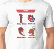 Teenage Meaty Nutritional Tidbits - The Team Unisex T-Shirt