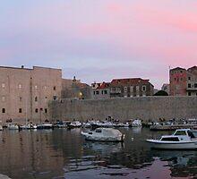 Dubrovnik Marina by Brad Duyvestyn