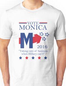 Vote Monica in 2016 Unisex T-Shirt