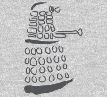 Dalek: Exterminate grey  Kids Clothes