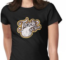 Thick & Sexy - 1970's Style (Distressed) Womens Fitted T-Shirt