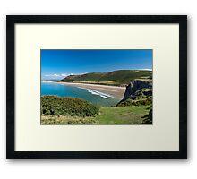 Rhossili Bay Framed Print