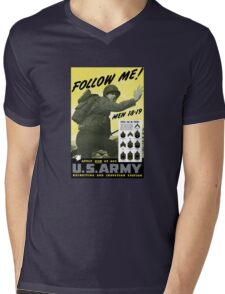 Follow Me - Join The Us Army  Mens V-Neck T-Shirt