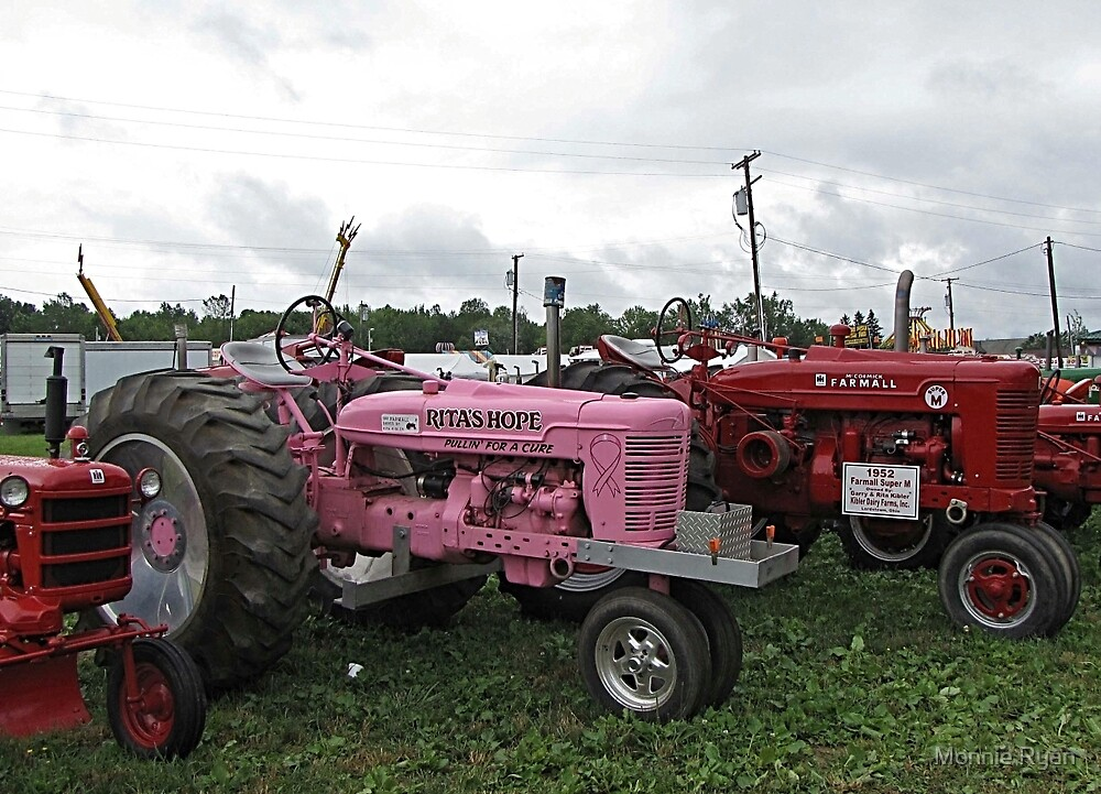 Tractor with a Cause by Monnie Ryan