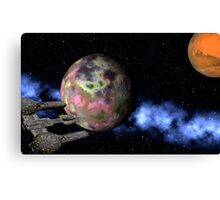 New Worlds to Explore Canvas Print