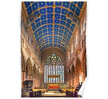 Nave, Carlisle Cathedral, Cumbria, England Poster