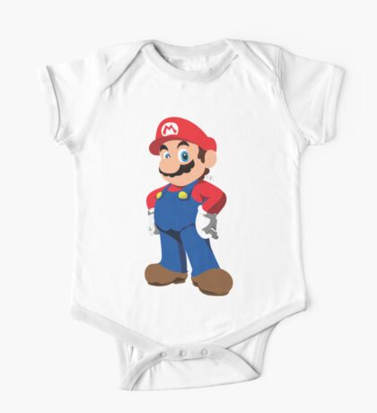 Super Mario One Piece - Short Sleeve