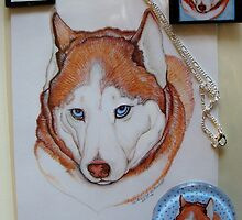 Siberian Husky Commission by Catherine  Howell