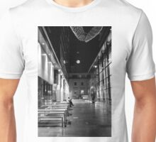 Some Quiet Time B&W Unisex T-Shirt