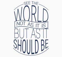 See The World #3 Kids Tee