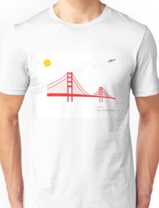 I love San Francisco Unisex T-Shirt