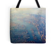 New York from the Air  (2012) Tote Bag