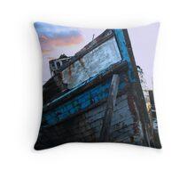 Blue Good Hope Throw Pillow