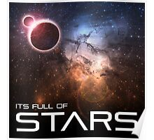 Its Full of Stars Poster