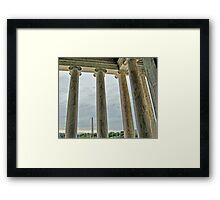 The Washington from the Lincoln Framed Print