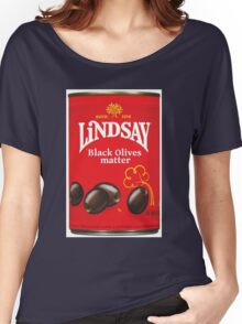 Black Olives Matter Women's Relaxed Fit T-Shirt