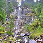 Engelberg Waterfall (HDR) by Frederic Chastagnol