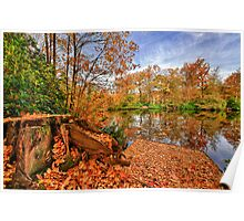 Forty Hall Autumn Poster