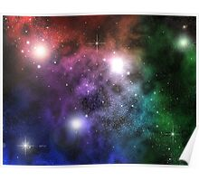Space Clouds Poster