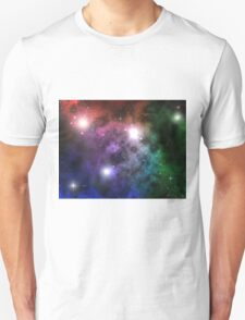 Space Clouds Unisex T-Shirt