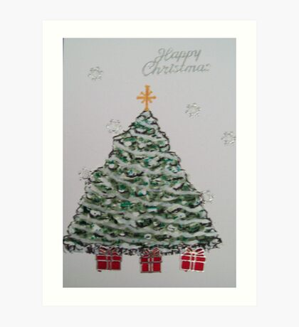 Christmas Tree 1 Art Print