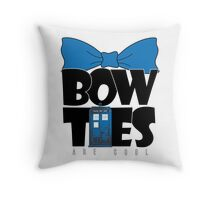 Bowties are Cool Throw Pillow