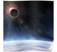 Outer Atmosphere of Planet Earth Poster