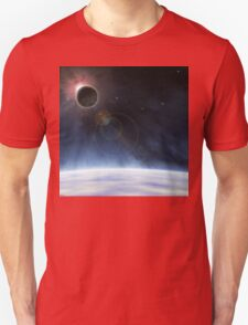 Outer Atmosphere of Planet Earth Unisex T-Shirt
