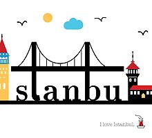 I love Istanbul. by Irmak Berktas