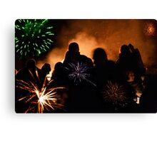Firework Night Canvas Print
