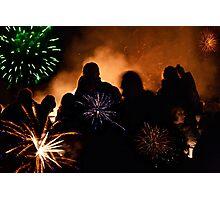 Firework Night Photographic Print