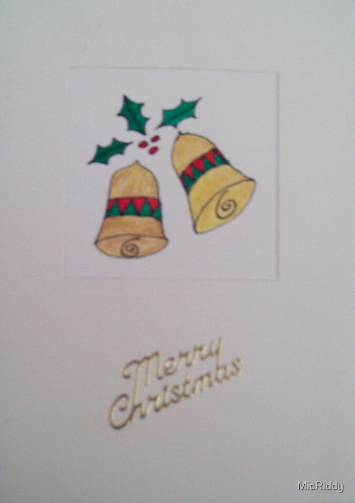 Christmas Bells 1 by MicRiddy