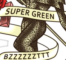 Super Green Sticker