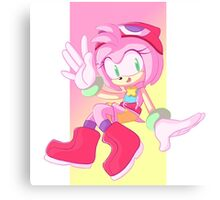 Puyo Amy Canvas Print