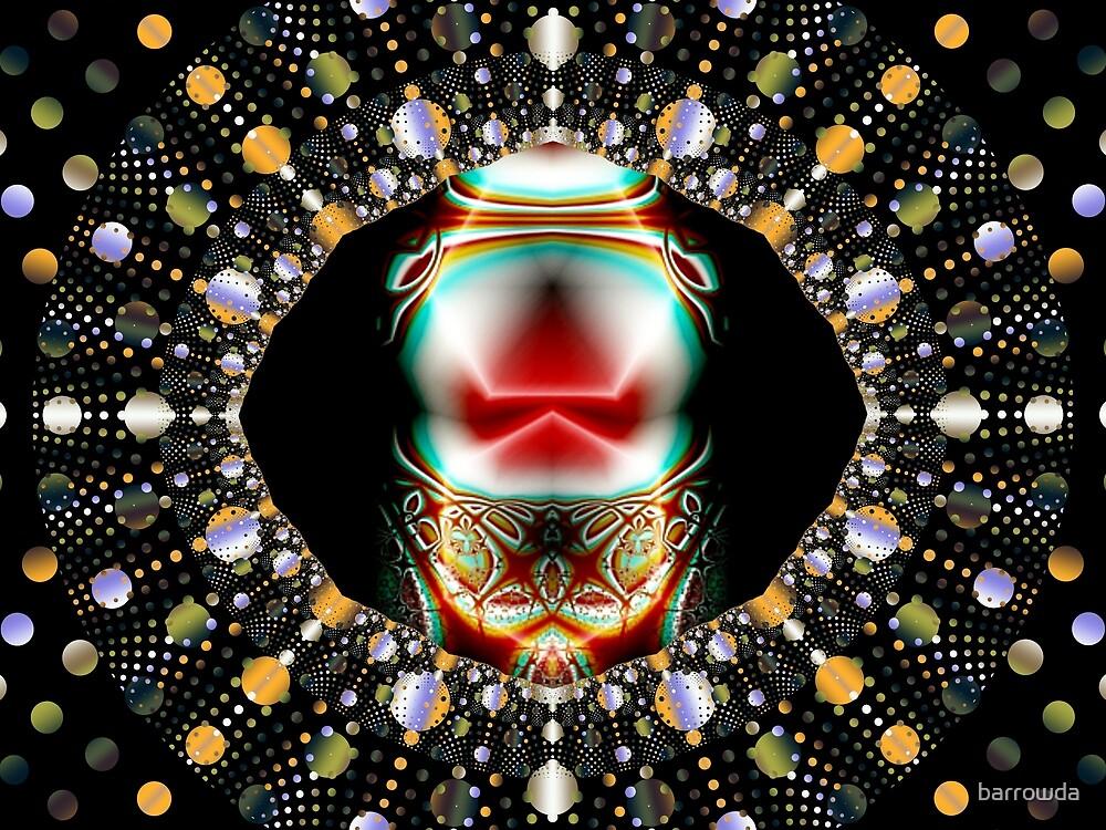 Clown-Faced Ornament  (UF0007) by barrowda