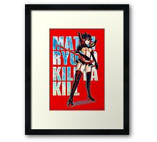 Mako Kill la Kill Framed Print