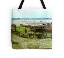 Hull Down in the Mud Tote Bag