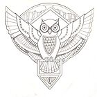 Pencil Owl by M McKeithen